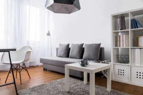 9 ideias para decorar um pequeno living