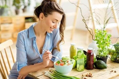 Como uma dieta saudável ajuda você a viver melhor