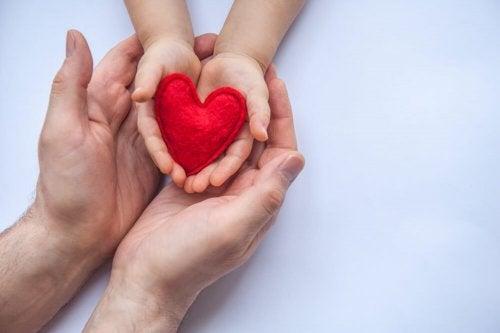 Ensine generosidade ao seu filho