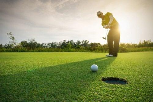 Para jogar golfe, prescisa de uma dieta para golfistas
