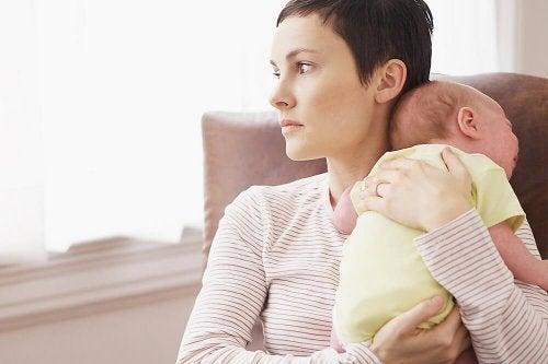 A depressão pós-parto não permite desfrutar dos filhos