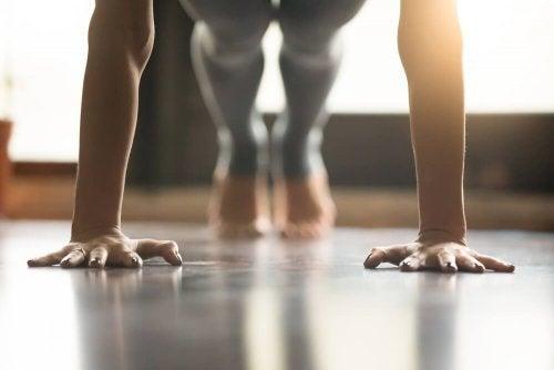 Para praticar ioga precisa de determinação