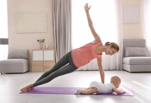 Como recuperar o corpo depois da gravidez