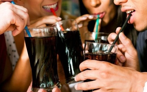 Bebidas que engordam com gas