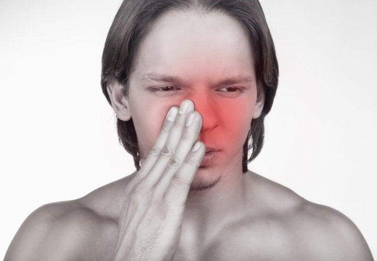 Creme de rabanete para combater a sinusite