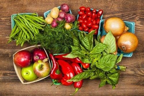 Consuma um extra de vegetais para uma alimentação saudável