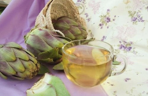 Alcachofra com azeite e vinagre