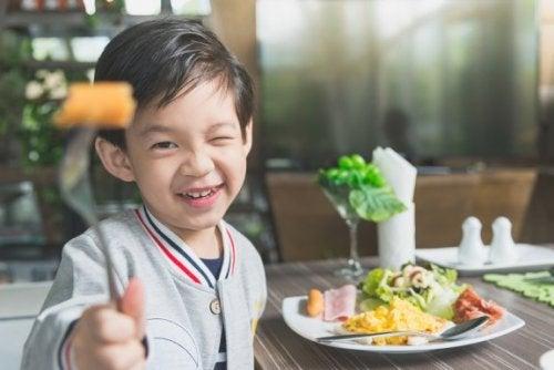 Alimentos para o desenvolvimento ósseo de crianças