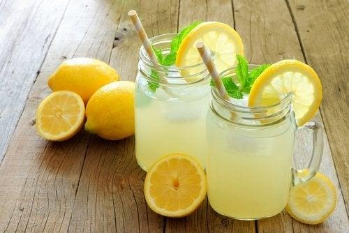Bebidas mais recomendadas em uma dieta saudável: Limonada