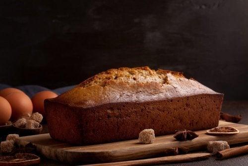 Receita de bolo de mel e especiarias
