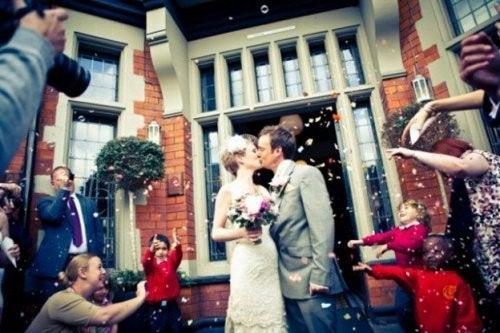 Início da felicidade no casamento