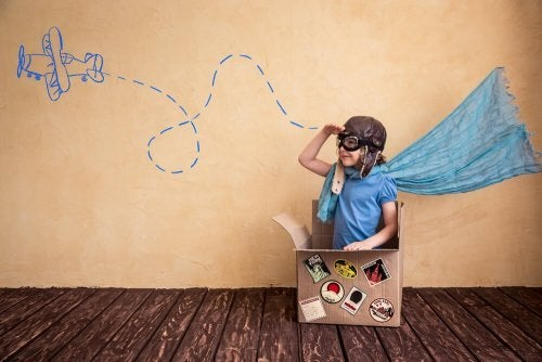 Para evitar a síndrome da criança hiper-presenteada deixe a imaginação do pequeno voar
