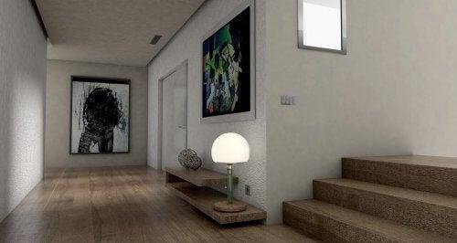 Decore com quadros de acordo com o espaço