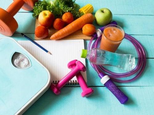 Adote uma dieta balanceada para emagrecer após a gravidez