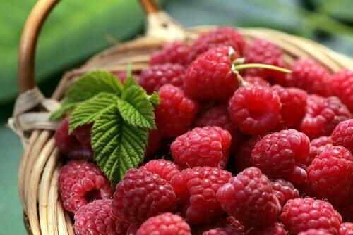 frutas vermelhas são alimentos pobres em calorias