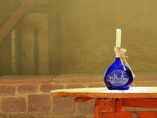 Garrafas de vinho vintage: como decorar com elas!