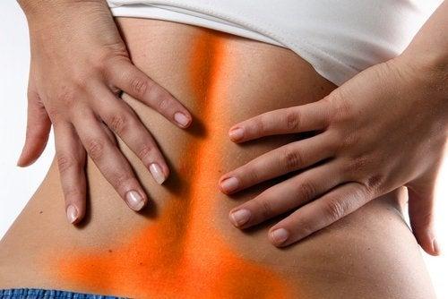 Sintomas da dor lombar