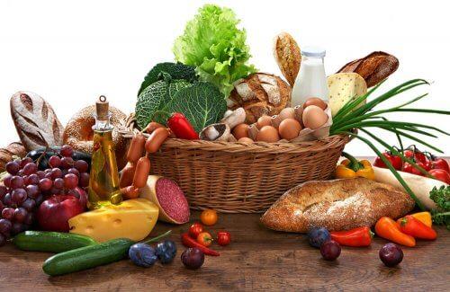 Nutrientes que o corpo precisa receber diariamente