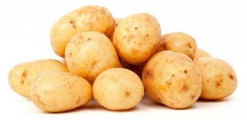 A casca de batatas tem múltiplas propriedades