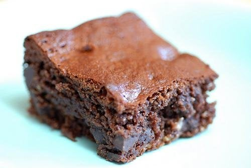Brownies de abacate e chocolate