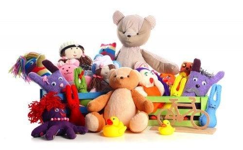 Na síndrome da criança hiper-presenteada a criança tem tudo o que quer
