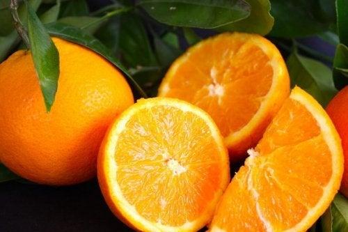 Laranja para vinagrete de laranja