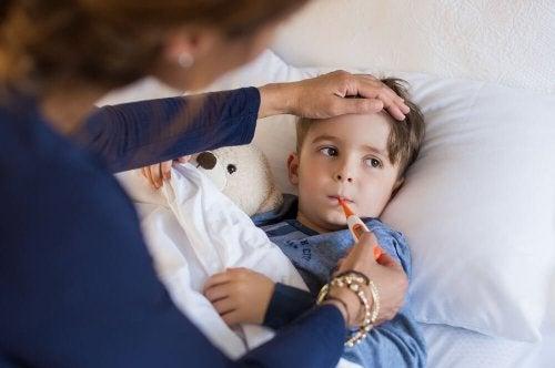Febre em crianças: saiba como agir