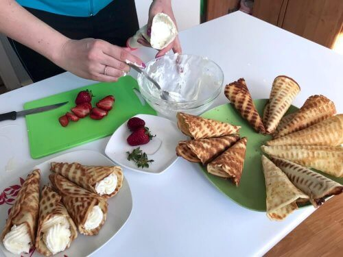 Aprenda a preparar esses deliciosos canudinhos recheados com creme