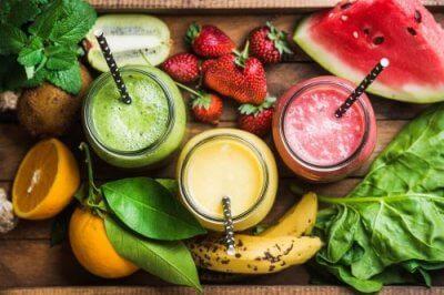 Dieta de smoothies para depurar o organismo