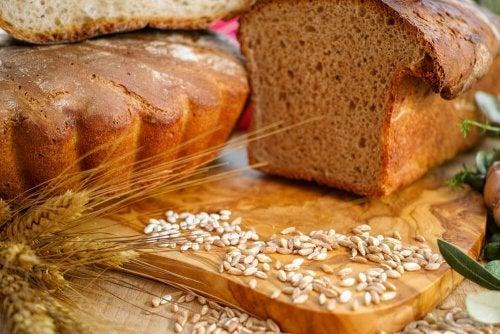 Receita de pão proteico integral