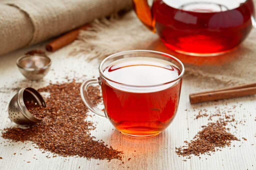 Como preparar chá vermelho