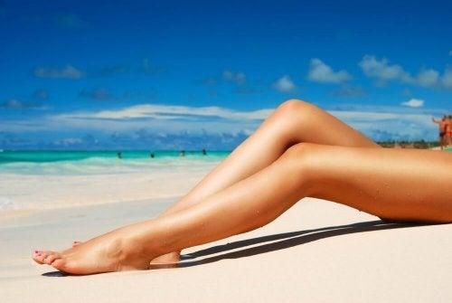 Para se proteger do sol no verão use cremes de proteção solar