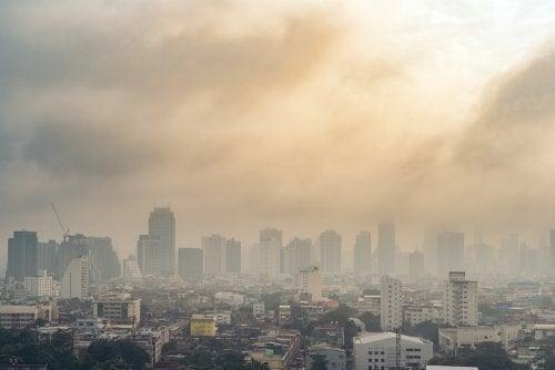 Origens da poluição do ar