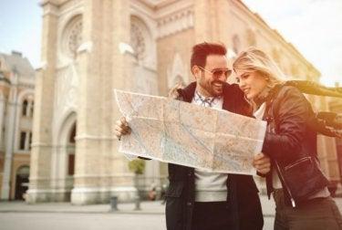 Leve um mapa ao sair de férias