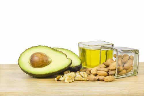 Quantidade recomendada de gorduras na dieta