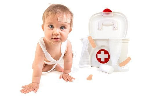 Quais são as consequências das quedas das crianças?