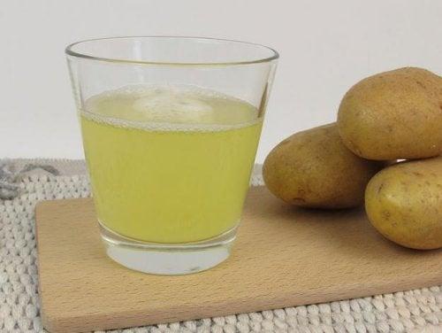 Suco de batata para doenças nos rins