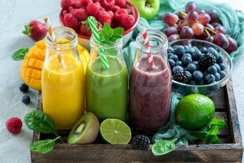 Sucos de frutas para reduzir a temperatura