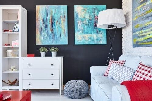 Dica para decorar os espaços compartilhados de forma alegre