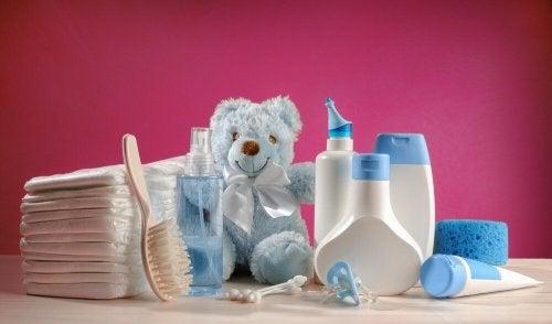 Como cuidar do cabelo do bebê com produtos para o cabelo
