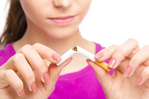 Mudanças positivas que acontecem ao parar de fumar