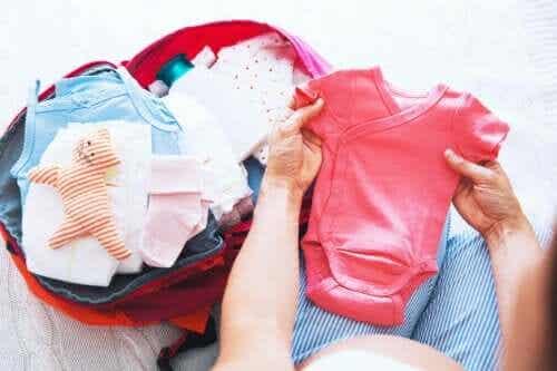 6 coisas que você deve levar na sua mala do dia do parto