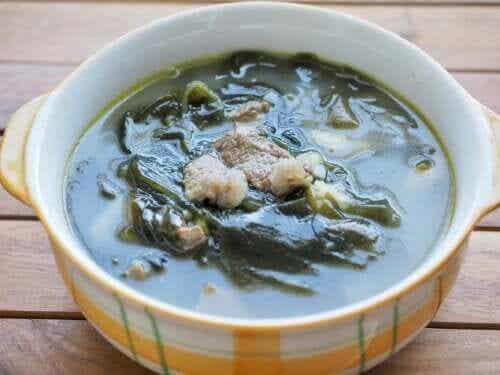Algas para uma alimentação saudável