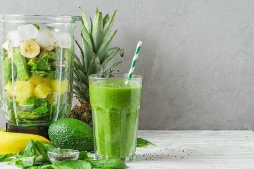 As batidas verdes são uma opção saudável