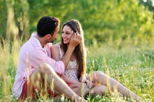 Carinho mantém as relações unidas
