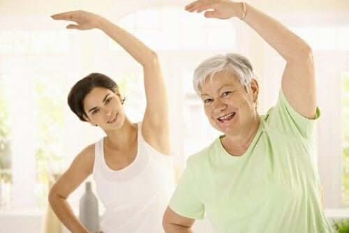 Evite o aumento de peso com a idade se mexendo