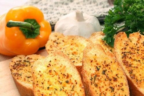 Pão frito caseiro