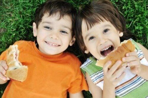 7 erros na alimentação das crianças