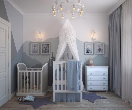 As 4 melhores cores para o quarto do seu filho