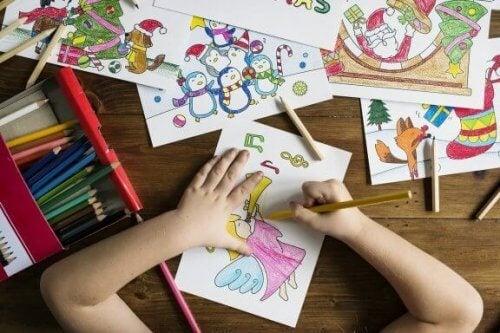 Os benefícios do desenho para as crianças